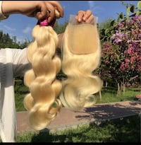 Blonde wigs and bundles any length  Houston, 77041