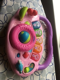 pink and purple Fisher-Price learning walker 2296 mi