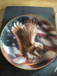 eagle plate with wall mount Visalia