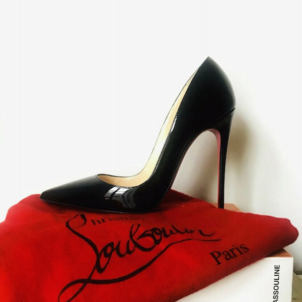 Authentic Christian Louboutin So Kate Heels