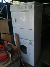 white front-load clothes washer Vancouver, 98664