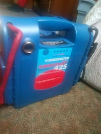 blue and red portable generator Milwaukee, 53212