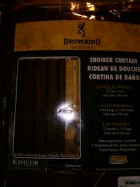 Browning shower curtain Springfield