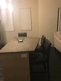 black wooden table with chairs Coconut Creek, 33073