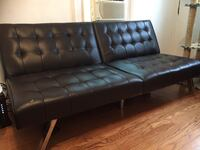 Faux Black Leather Sofabed  Takoma Park, 20912