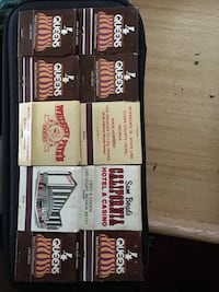 Vintage Matchbook Collection From Old Las Vegas Casinos (Price $$ is negotiable) San Diego, 92113