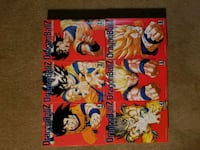DBZ manga volume 1-18 Washington, 20032