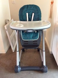 Graco Blossom high chair with booster seat