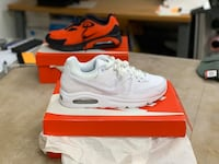 Nike Air Max Command Leather sz9 White BRAND NEW