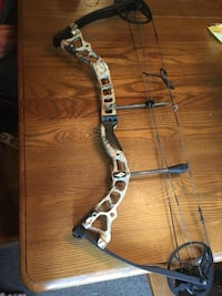 black and gray compound bow Mayport, 16240