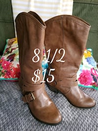 Brown boots Salinas, 93901