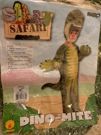 Dino-Mite Dinosaur Costume, sz 3-4 years Reston, 20194