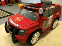 GREAT Fire Truck - Motor Operated 9 km