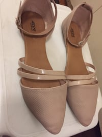 Ardene nude colour flat shoes(size 8) London, N5Y 4K5