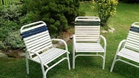 Patio chairs (set of 4)