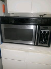 stainless steel and black microwave oven San Antonio, 78227