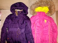 Girls sz 8-10 fit heavyweight coats Baltimore, 21229