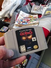 Nightmare Creatures (NINTENDO 64) - $15 FIRM Edmonton