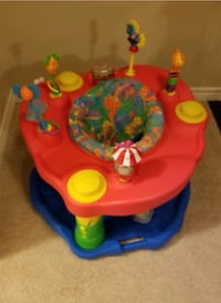 baby's red and blue exersaucer Markham