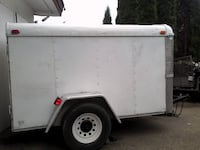 white and black utility trailer Abbotsford
