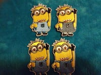 Minion cloth patches $1 each 32 km