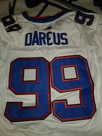 white and blue NFL jersey 277 mi