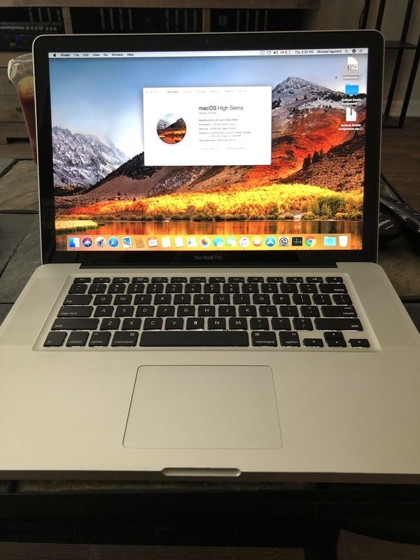Price is firm 15 inch apple MacBook Pro w/ new battery (read details)