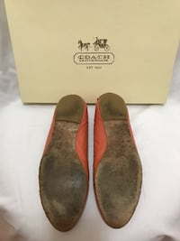 pair of brown suede UGG boots with box FALLSCHURCH