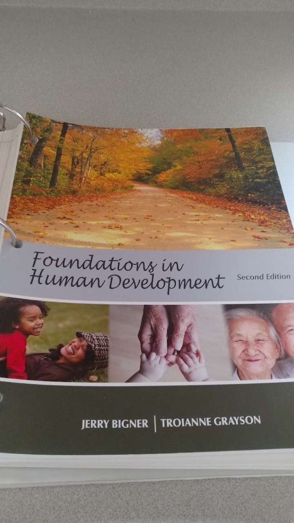 Foundation in Human Development second edition Jerry Bigner and Troianne  Grayson