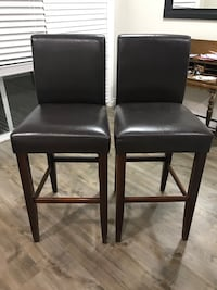 Faux Leather Bar Stools/Chairs Surrey, V3S