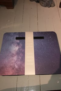 Lap desk tray with tablet holder