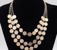 New Gold Filled 3 row necklace Inverness, 60067