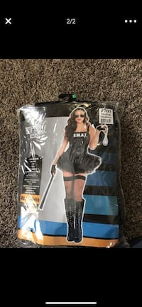 Hot swat costume adult medium Bakersfield