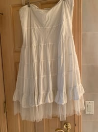Skirt White Pre-Owned Size XL Toms River, 08753