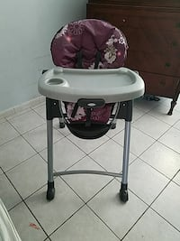 baby's Disney high chair