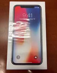 iPhone X unlocked space grey 256gb unlocked  New York, 10456
