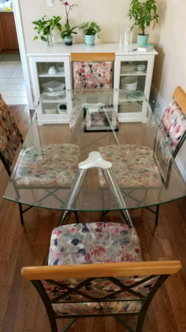 Dining Table - Glass - Condo Sized