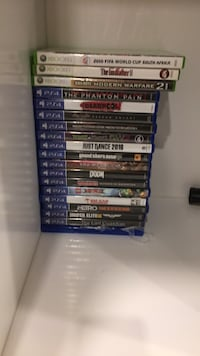 assorted Sony PS4 game cases King, L7B 1N2