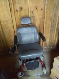 gray and red power wheelchair Columbus, 43227