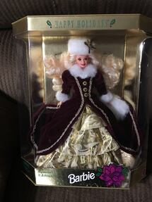 1996  Holiday Barbie NRFB mint condition