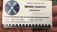 Handyman Services  Fairfax, 22033