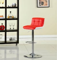 Brand New Red and White Bar Stool Barstools  Brea, 92821