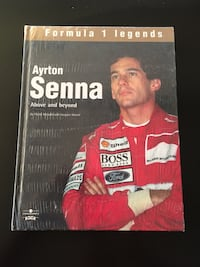 Ayrton Senna F1 Legend book. New...