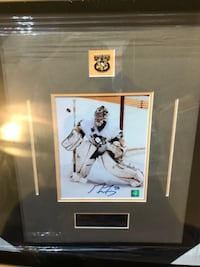 Autographed Marc-Andre Fleury Framed 8x10 comes with coa Toronto, M3J 0G6