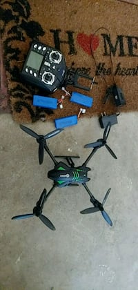 blue and black quadcopter drone Springfield, 22151