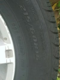 black auto tire with tire Greensboro, 27405
