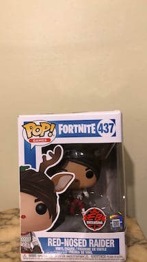 Pop Games Fortnite Red-Nosed Raider Vinyl Figure
