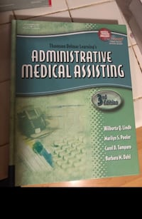 Administrative medical assisting 3rd edition book with cd Bowie, 20715