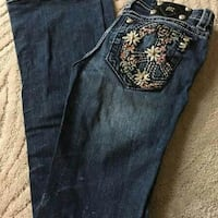 blue Miss Me denim jeans