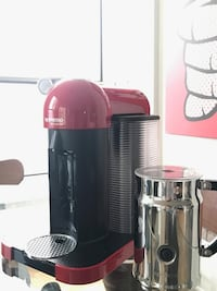 Nespresso VertuoLine with Milk Frother  Mississauga, L5B 3P8